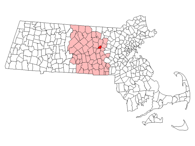 Clinton locator map
