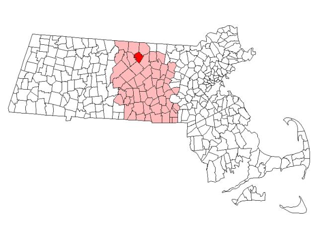 Gardner locator map