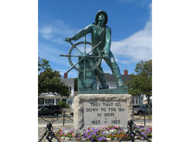 Gloucester MA - Fisherman%27s Memorial image