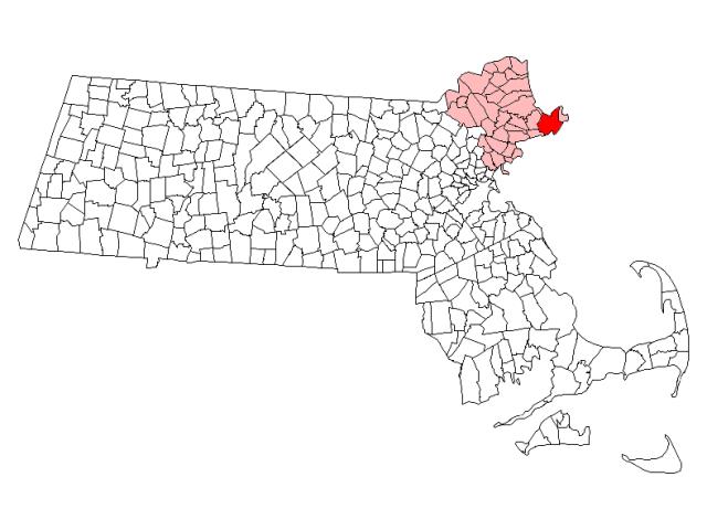 Gloucester locator map