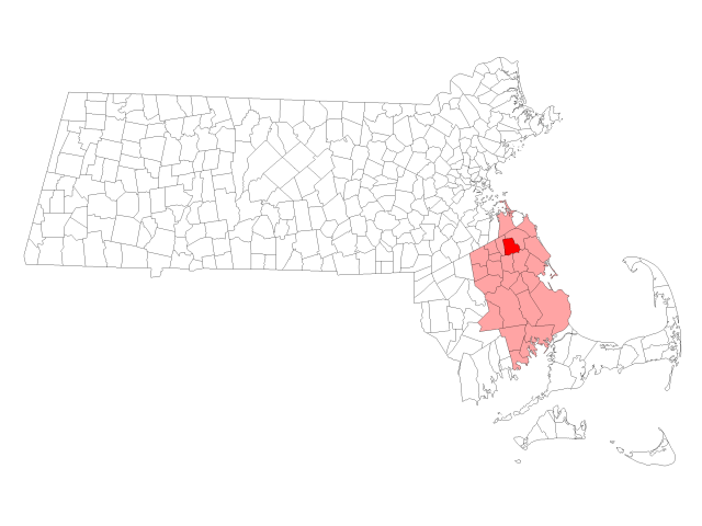 Hanover locator map