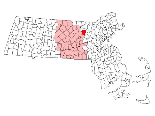 Harvard locator map