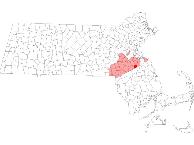 Holbrook location map