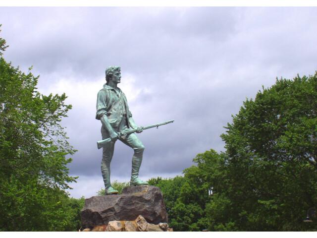 Minute Man Statue Lexington Massachusetts image