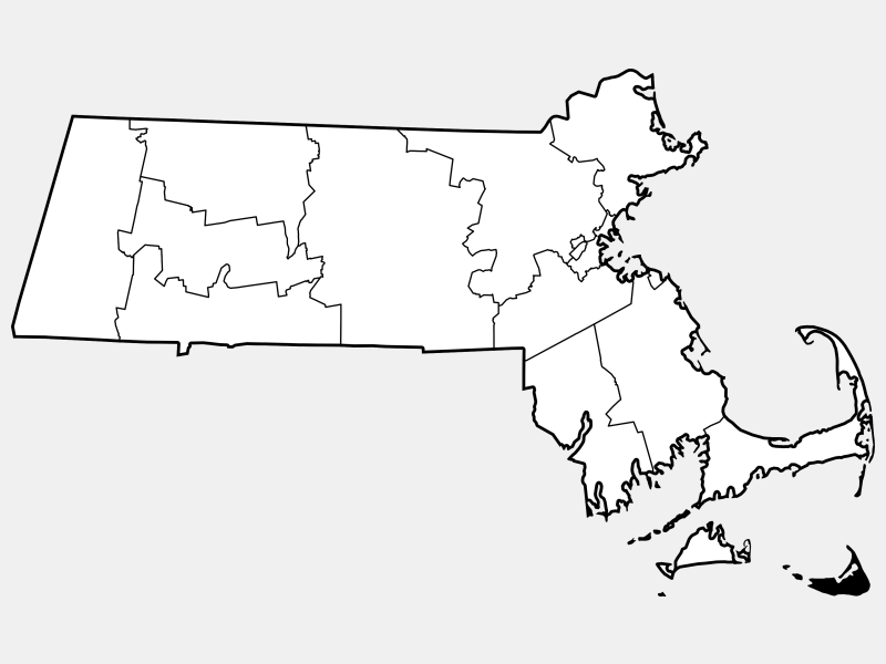 Nantucket County locator map