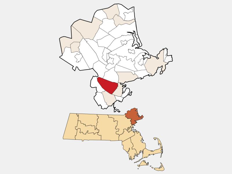 Peabody locator map