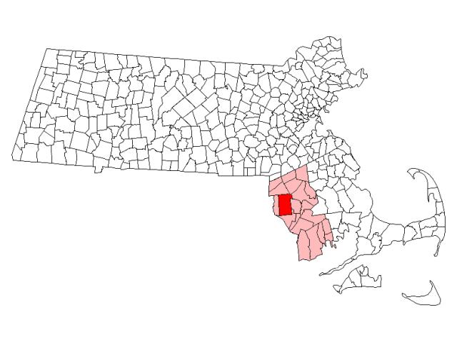 Rehoboth locator map
