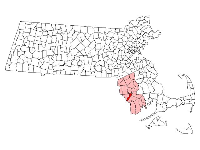 Somerset locator map