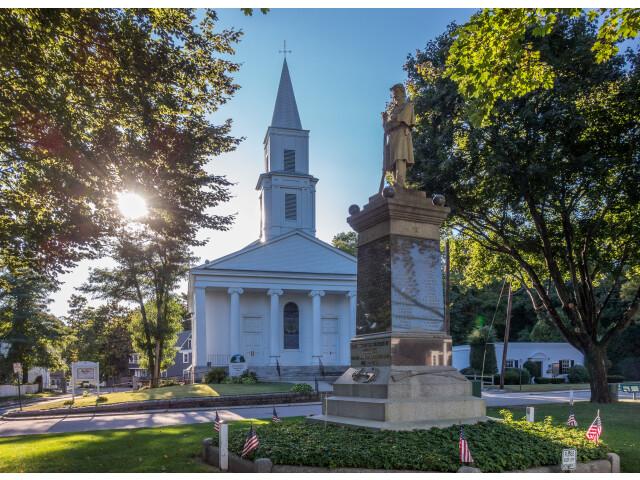 First Evangelical Congregational Church  Uxbridge MA image