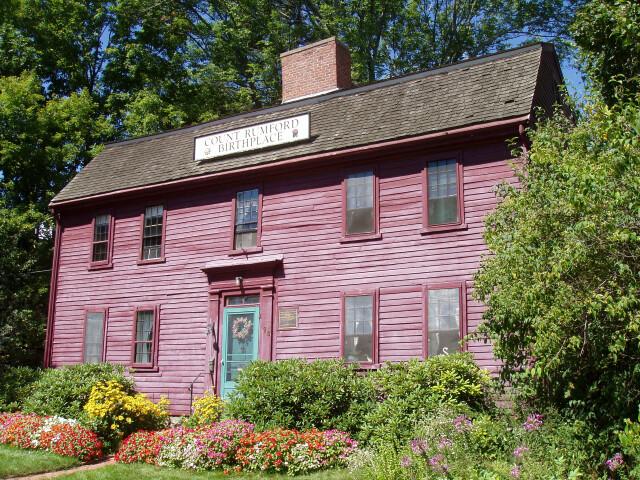 Benjamin Thompson Birthplace  Woburn  Massachusetts image