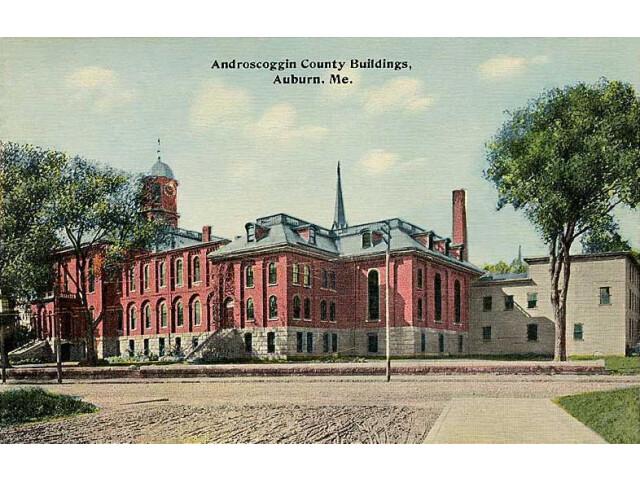 Androscoggin County Buildings  Auburn  ME image