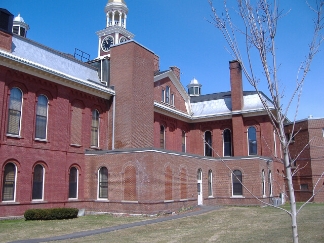 Backside of Houlton Courthouse image