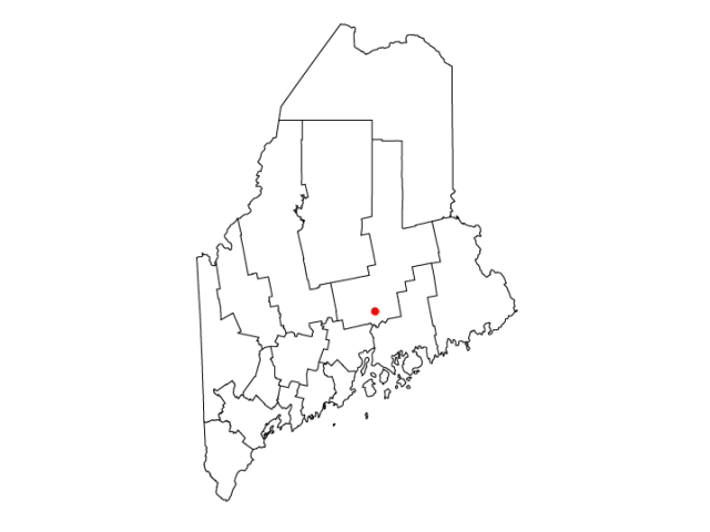 Bangor locator map
