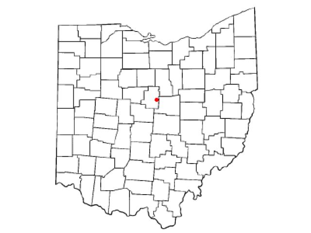 Chesterville locator map