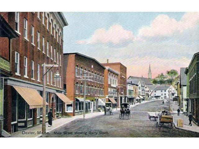 Main Street  Dexter  ME image