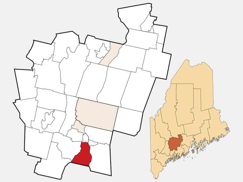 Gardiner locator map