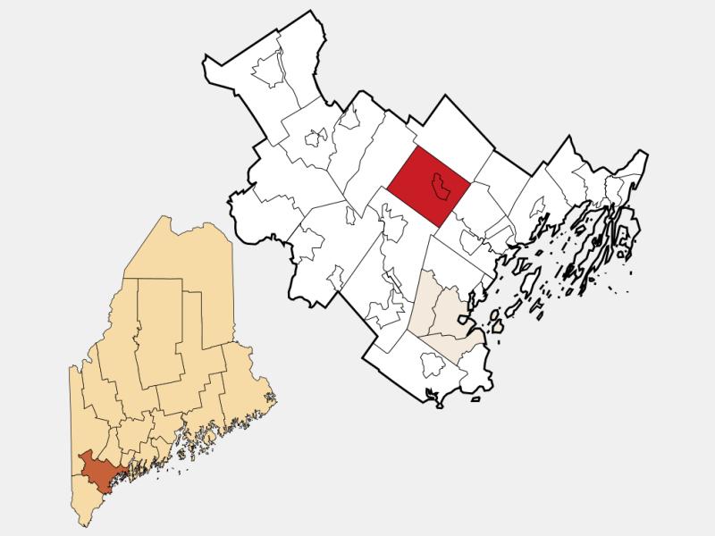 Gray locator map