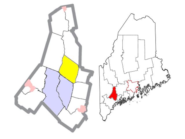 Greene locator map