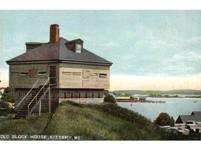 Old Block House  Kittery Point  ME image