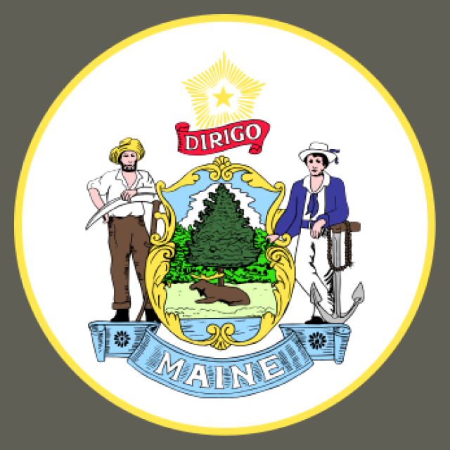 Seal of Maine seal image
