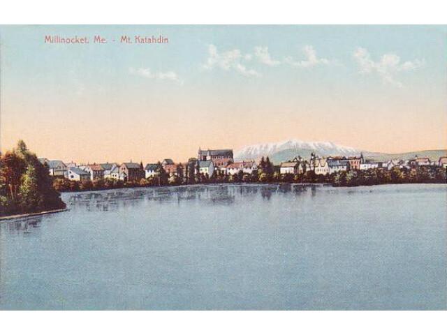 Millinocket  Maine %26 Mount Katahdin image