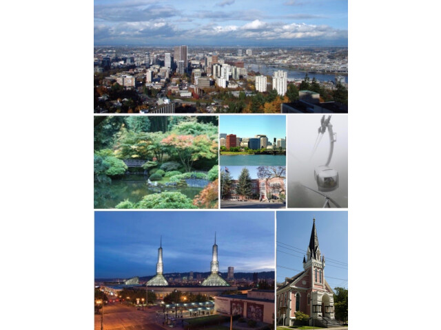 Portland  Oregon Collage image