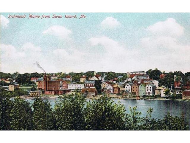 Richmond  Maine from Swan Island image