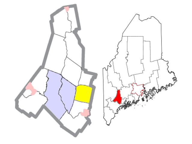 Sabattus locator map