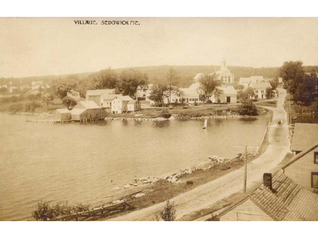 View of the Village  Sedgwick  ME image