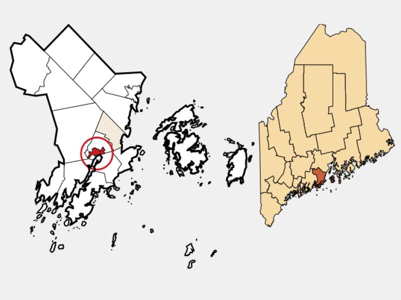 Thomaston locator map