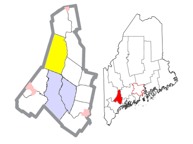 Turner locator map
