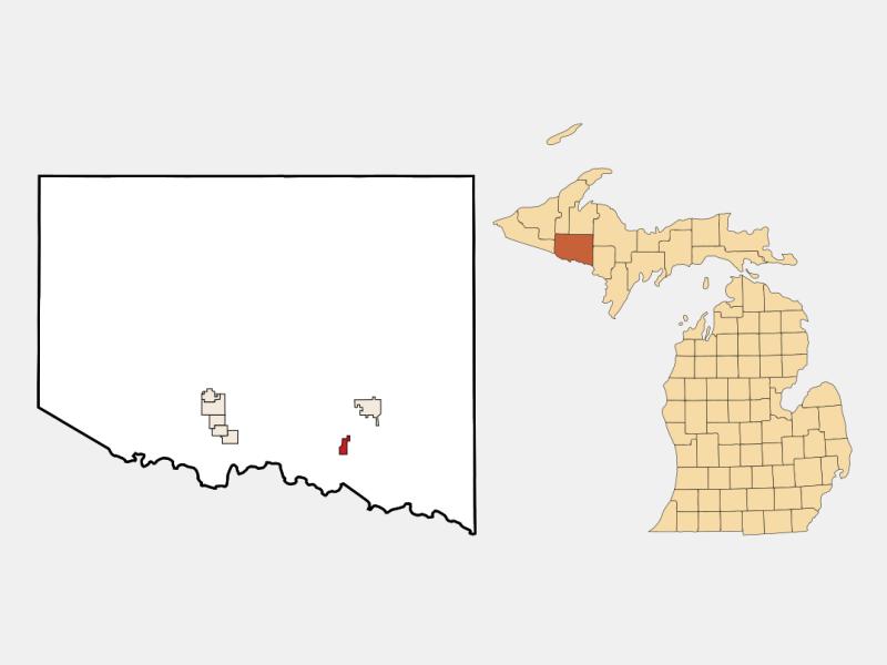 Alpha location map