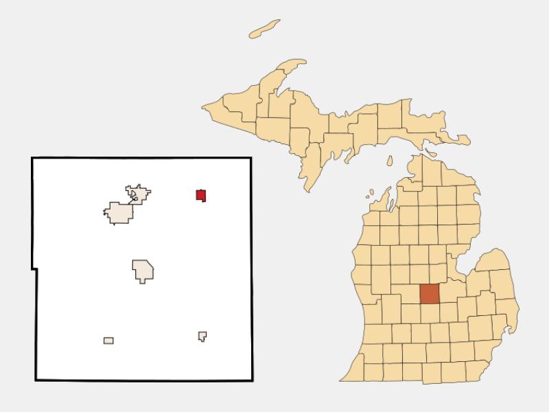 Breckenridge locator map