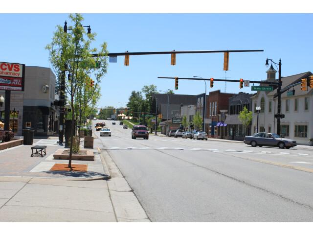 Downtown Brighton Michigan Grand River Avenue image