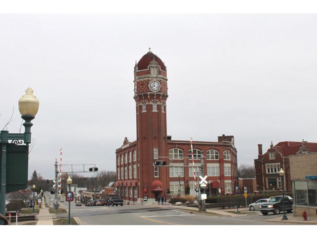 Chelsea Michigan Clocktower image