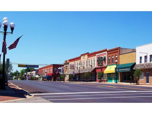 Chesaning  Michigan - downtown image