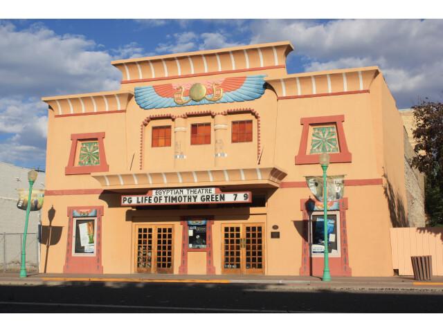 Egyptian Theatre on Main St  Delta  Colorado. image