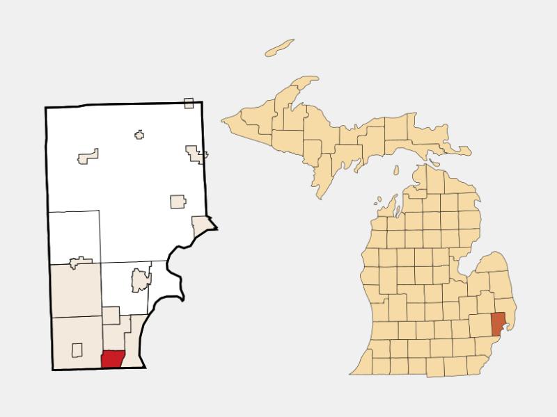 Eastpointe locator map