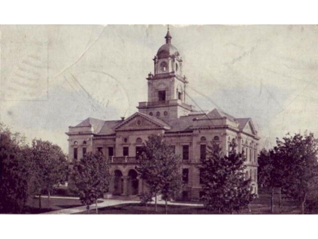 Gratiot County MI Courthouse c1908 image