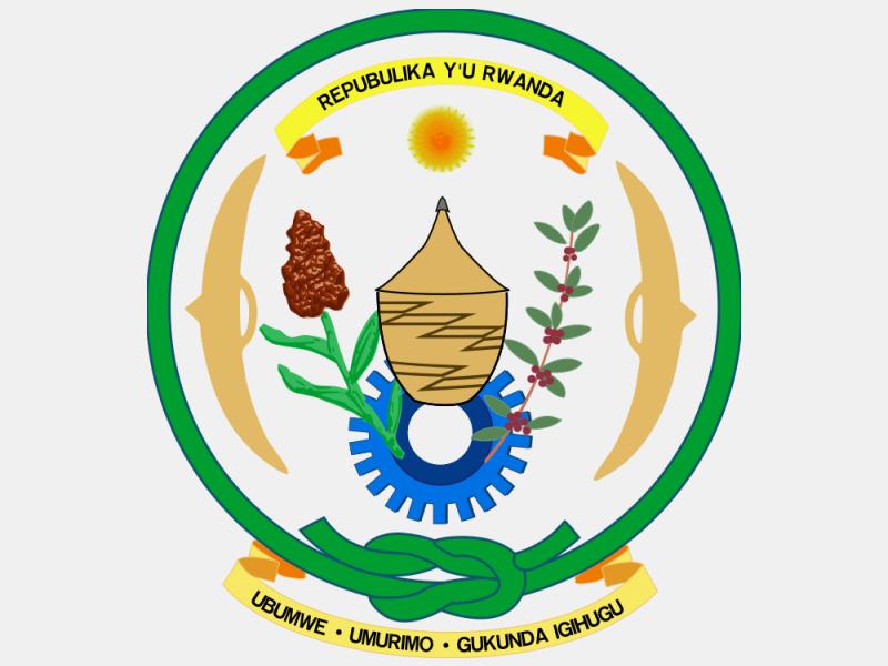 Coat of arms of Rwanda coat of arms image