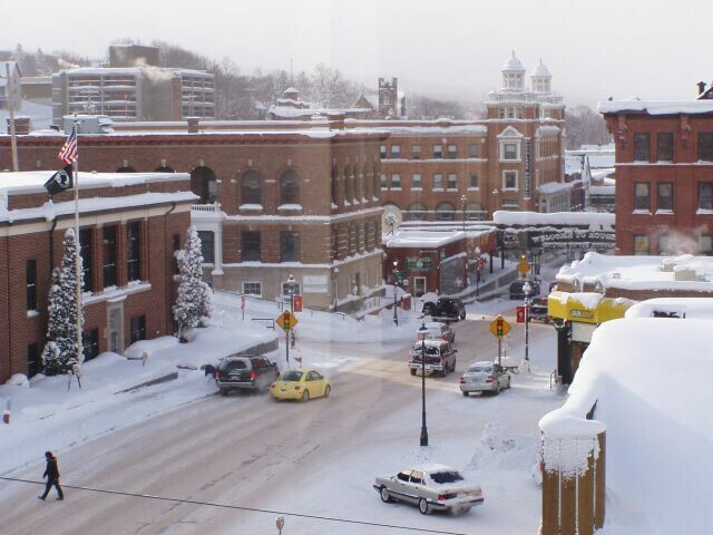 Downtown Hougton MI image
