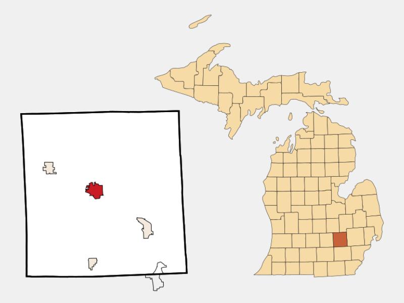 Howell locator map