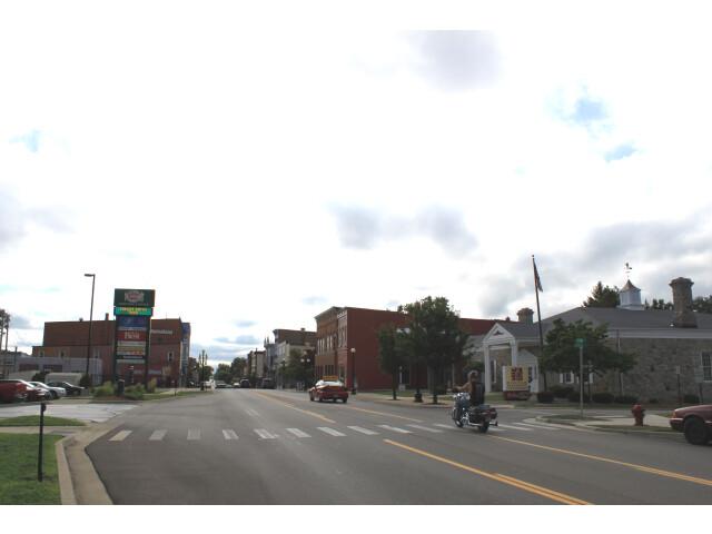 Main Street Hudson Michigan image