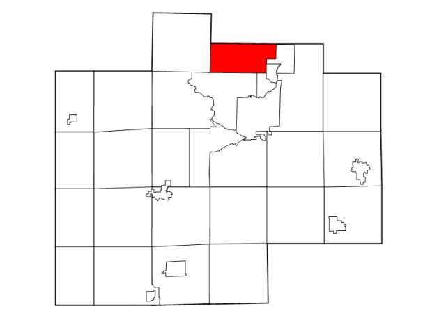 Kochville locator map
