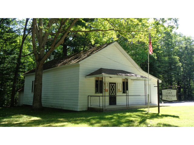 Lake Township Hall 'Roscommon County  MI' image