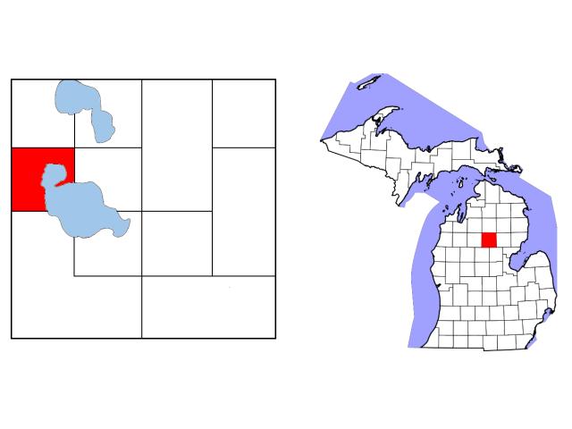 Lake locator map