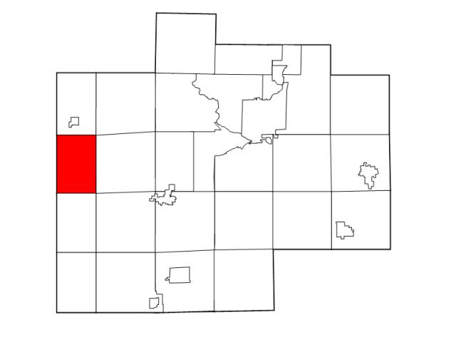Lakefield locator map