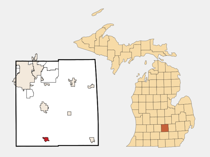 Leslie locator map