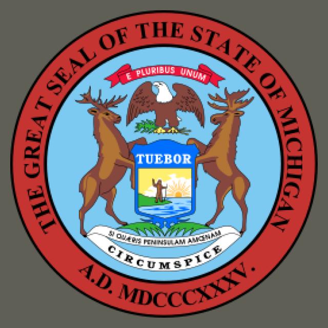 Seal of Michigan seal image