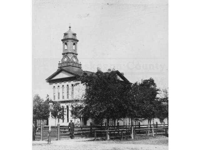 Muskegon County Courthouse  1885 image